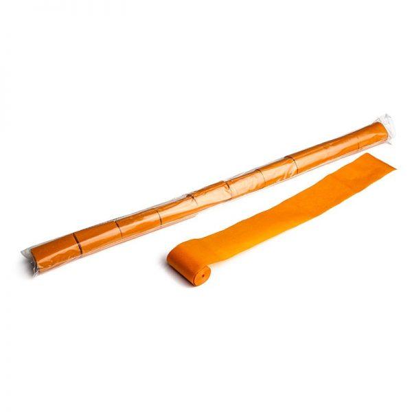 Luftschlangen 10mx5cm Orange