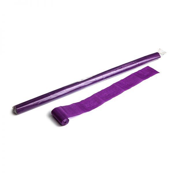 Luftschlangen 10mx5cm Violett