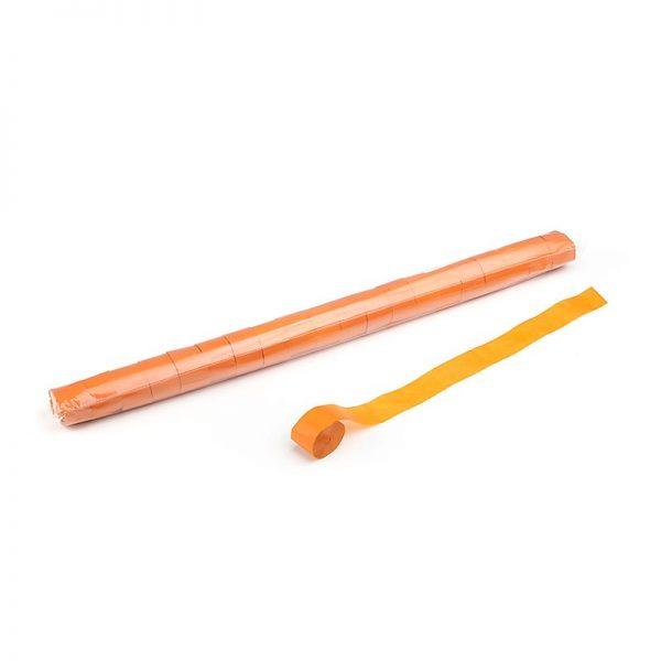 Luftschlangen 20mx2,5cm Orange