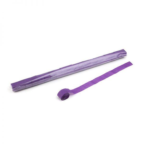 Luftschlangen 20mx2,5cm Violett