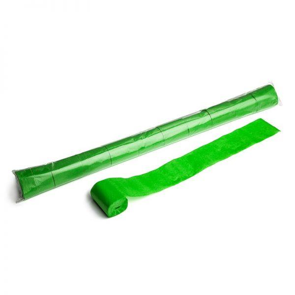 Luftschlangen 20mx5cm Hellgrün