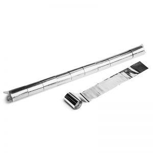 Luftschlangen 20mx5cm Silber Metallic