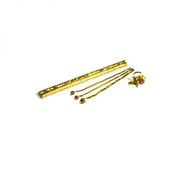 Luftschlangen 5x0,85m Gold-Metallic