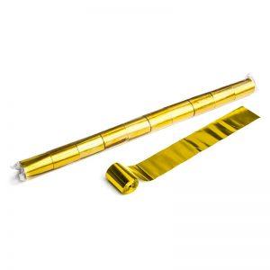 Luftschlangen 20mx5cm Gold Metallic