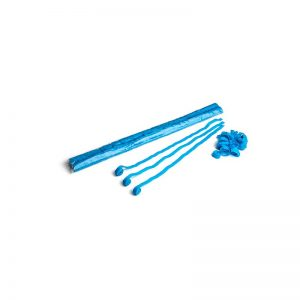 Luftschlangen 5x0,85m Hellblau
