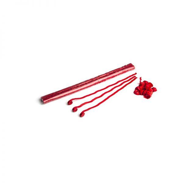 Luftschlangen 5x0,85m Rot